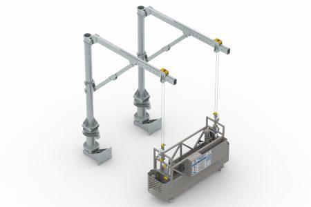 Ast25 Davit Kol Askı Sistemli Cephe Temizlik Sistemi
